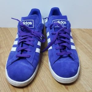 Adidas Campus 2 night flash purple/white superstar